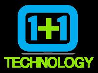 1+1 Technology full logo - PNG 1420x1200